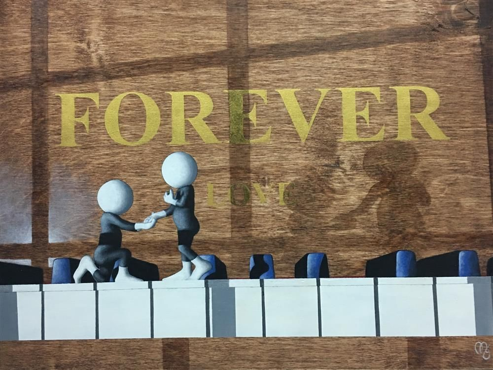Forever - 3D Resined - Board with Slip