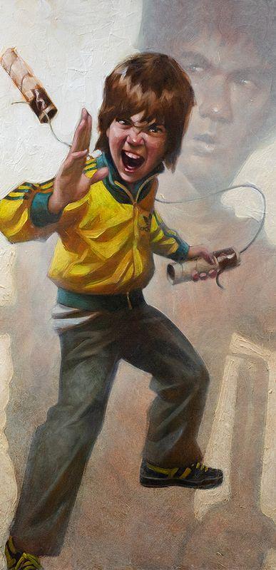 Game Of Daz - Artist Proof - Mounted by Craig Davison