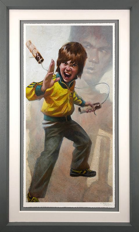 Game Of Daz - Artist Proof Grey - Framed by Craig Davison