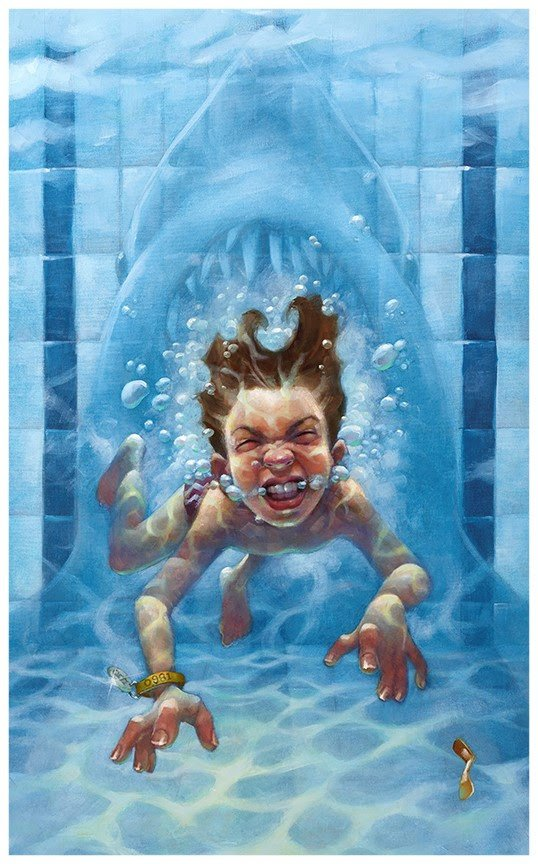 Get Out Of The Water (Jaws)  by Craig Davison