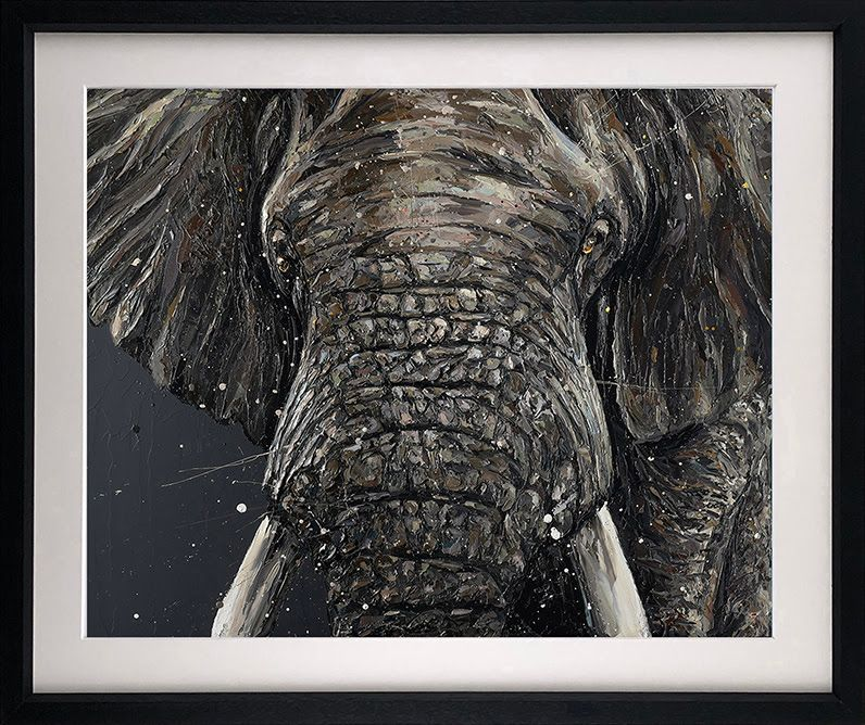 Gino - Black - Framed by Paul Oz
