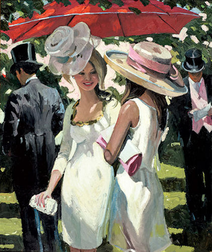 Glamorous Ladies Ascot - Board Only by Sherree Valentine Daines