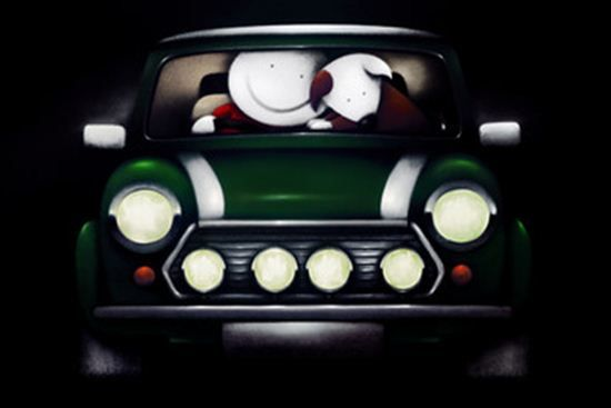 Go Faster Stripes - Framed by Doug Hyde