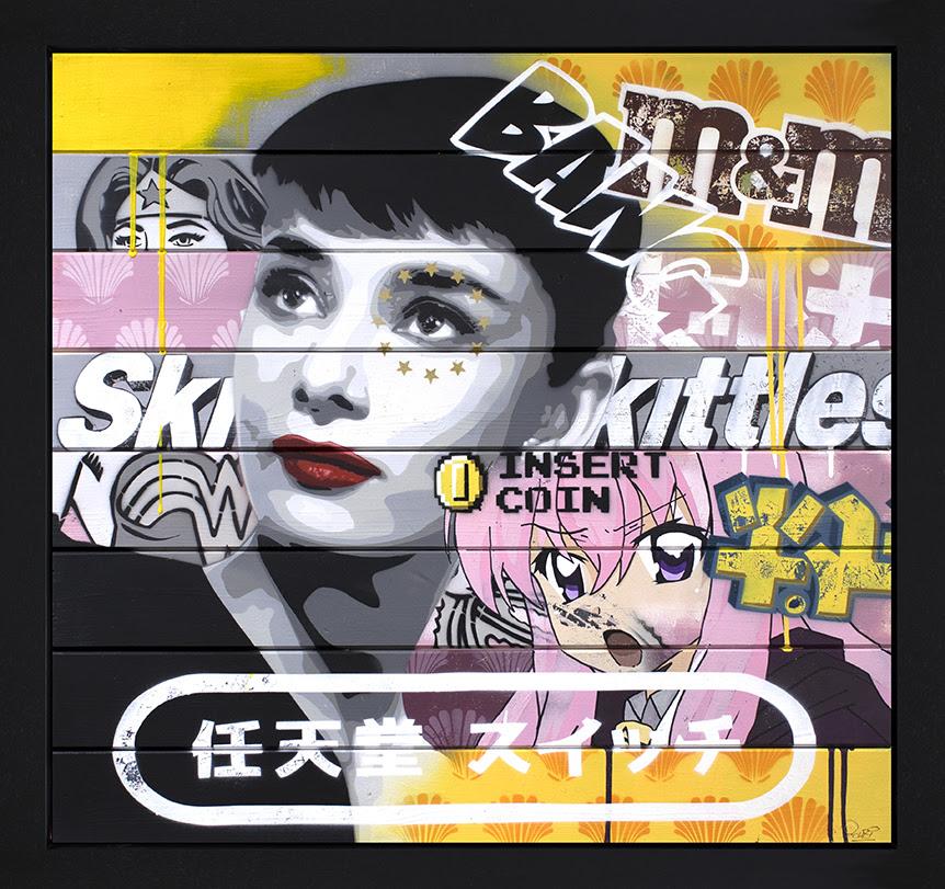 Golden Age Of Hollywood - Audrey Hepburn by Zombi *Zombiedan