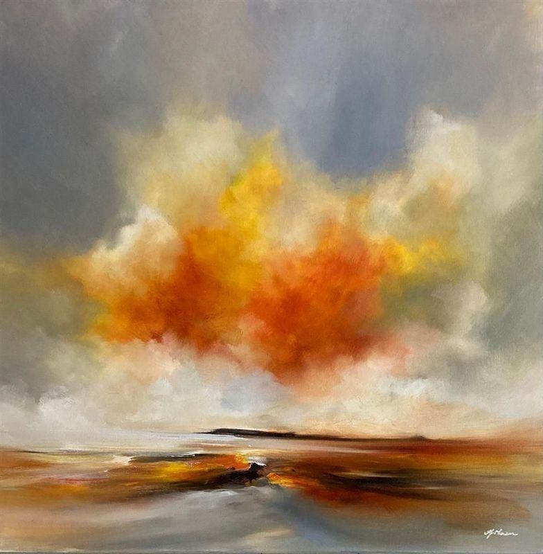 Golden Harmony by Alison Johnson