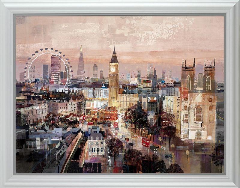 Golden Hour - Framed by Tom Butler
