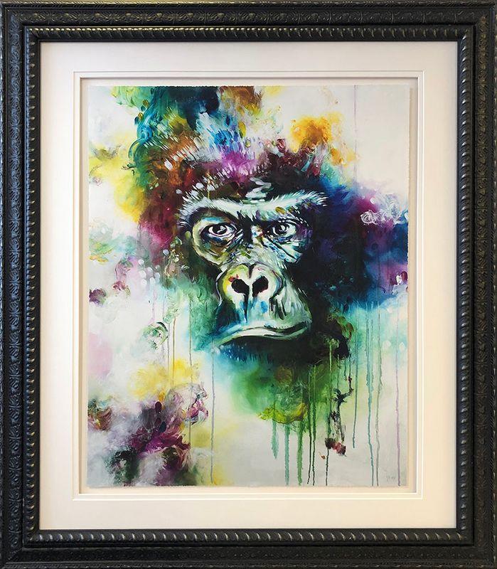 Gorilla 2019 - Original - Framed by Katy Jade Dobson