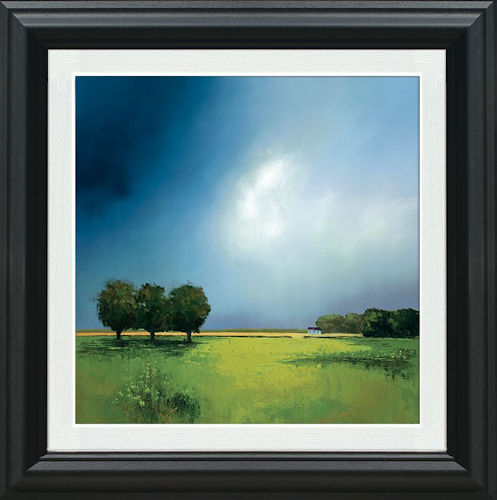 Green Fields of Home - Framed by Barry Hilton