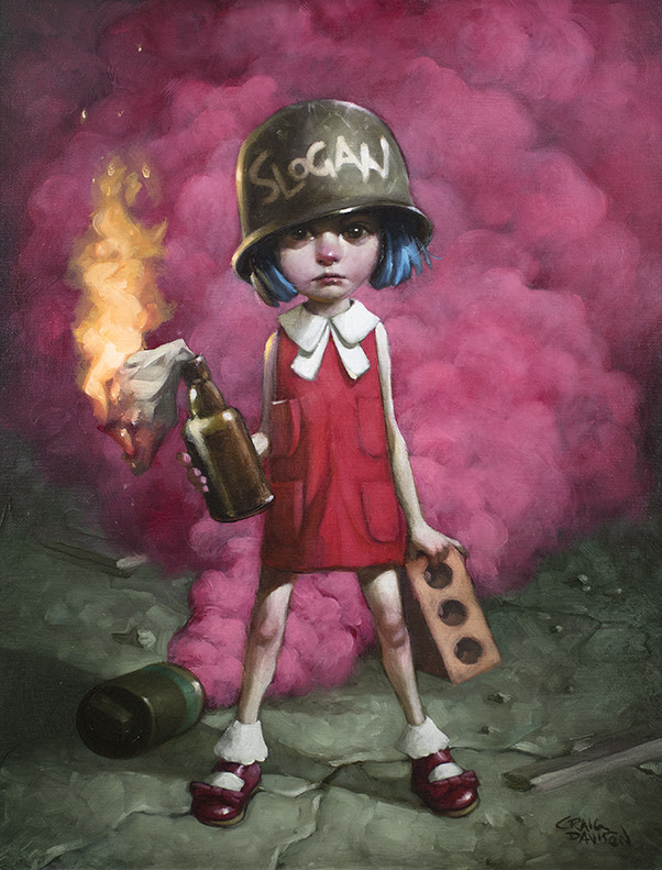 Guess Who Lost The Go In Go. For. It - Canvas - Framed by Craig Davison