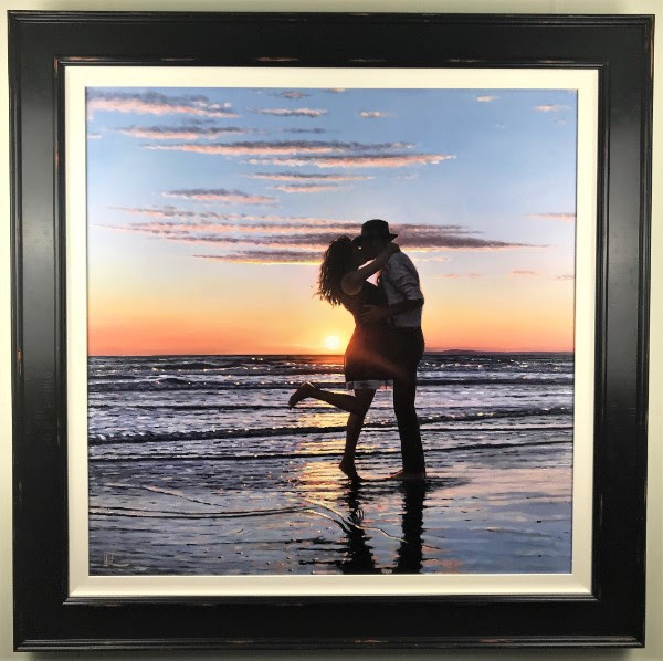 Halcyon Days - Canvas - Framed by Richard Blunt
