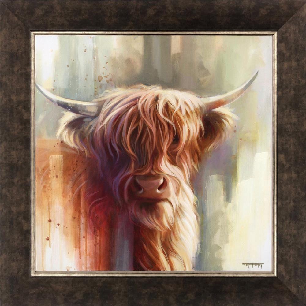 Hamish - Canvas  - Framed by Ben Jeffery