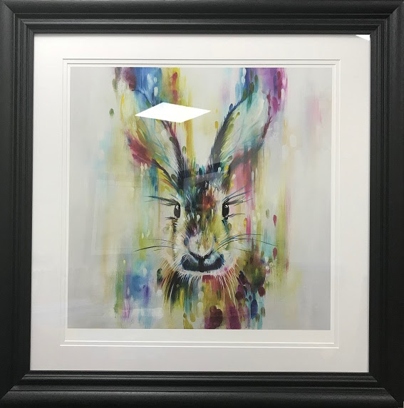 Hare - Escape (Large) - Framed