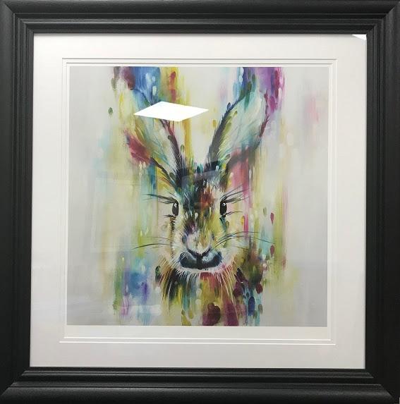 Hare - Escape (Small) - Framed