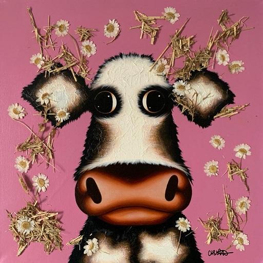 Hay There Cheeky - Original  by Caroline Shotton