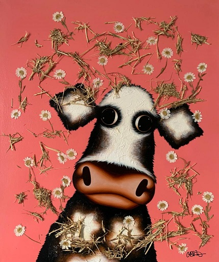 Hay There! - Original by Caroline Shotton