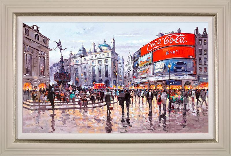Love Affair With London - Framed by Henderson Cisz