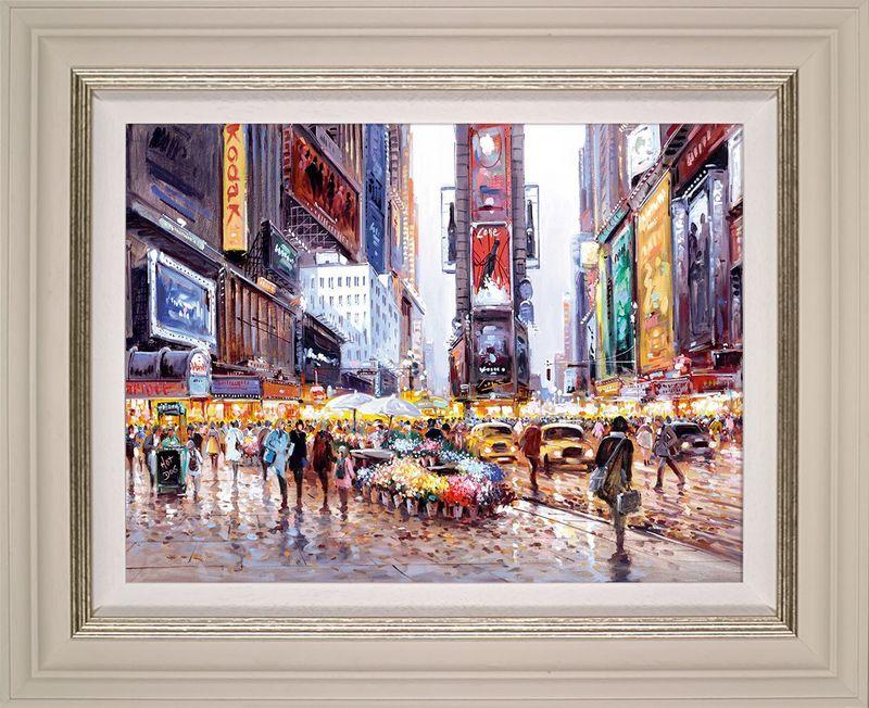 Heart Of Manhattan - Framed by Henderson Cisz