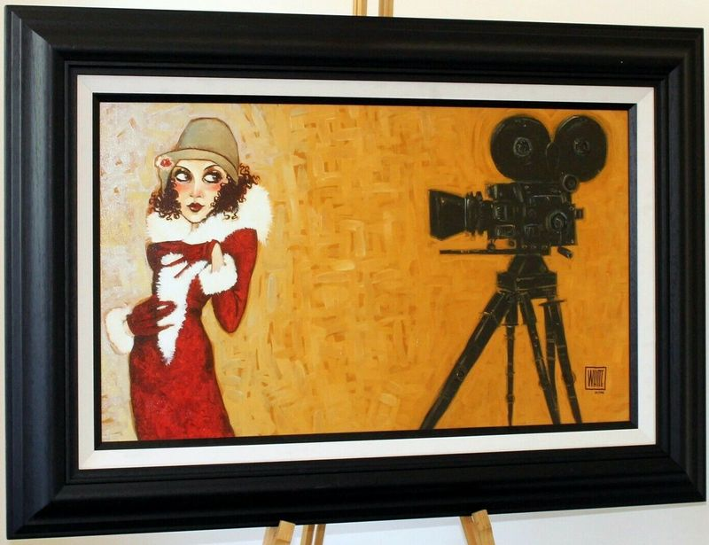 Her First Screen Test  - Framed by Todd White
