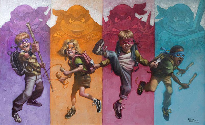 Heroes In A Half Shell by Craig Davison