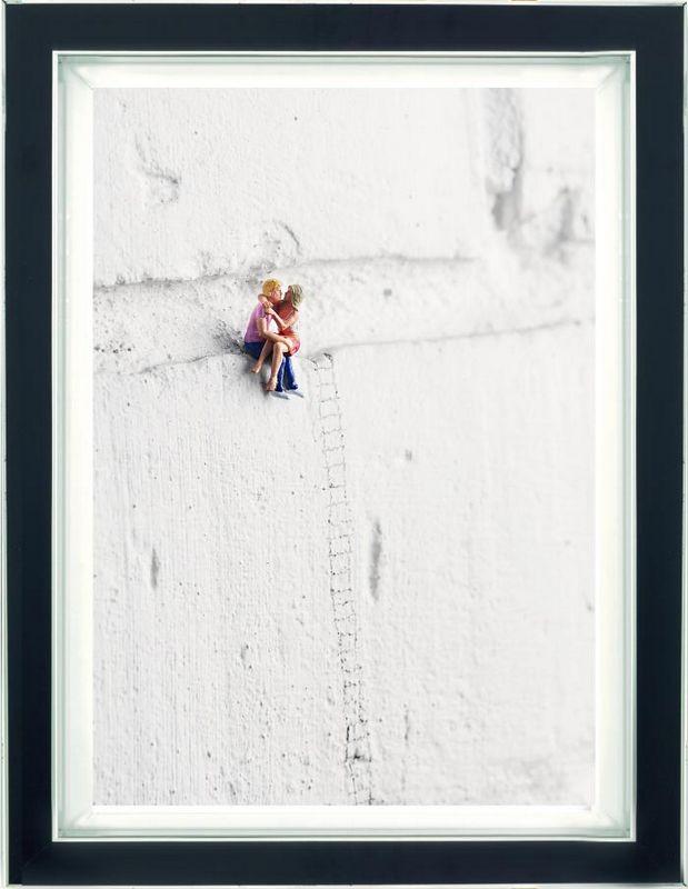 High On Love - Dye Sublimation - Framed by Mr Kuu