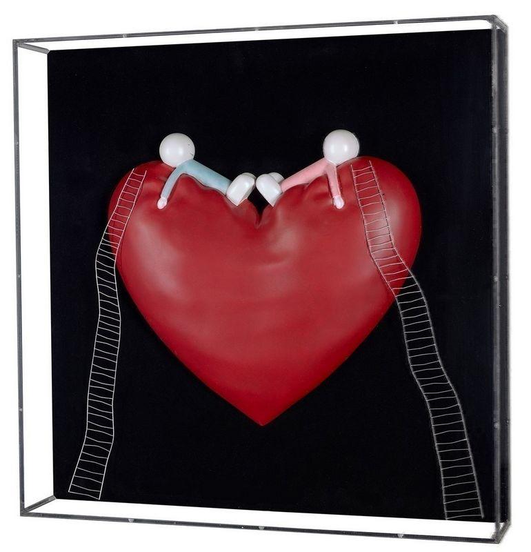 High On Love (Objet D'art) - Sculpture by Doug Hyde