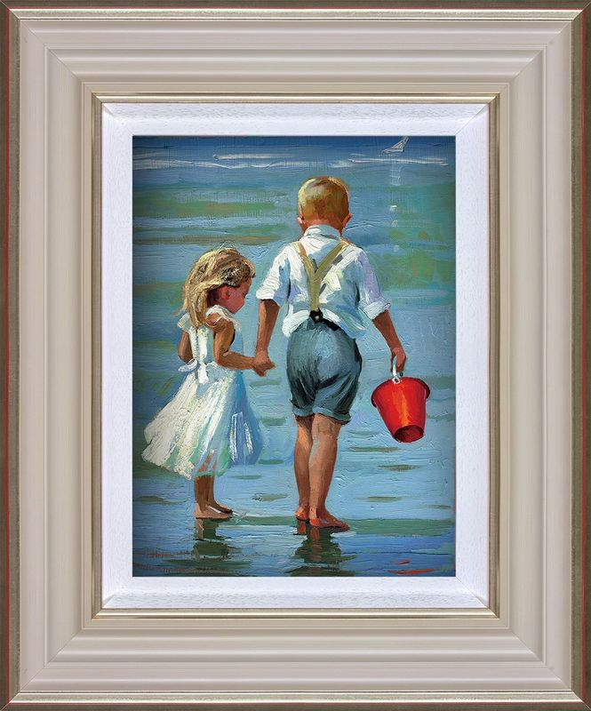 Hold On Tight - Framed by Sherree Valentine Daines