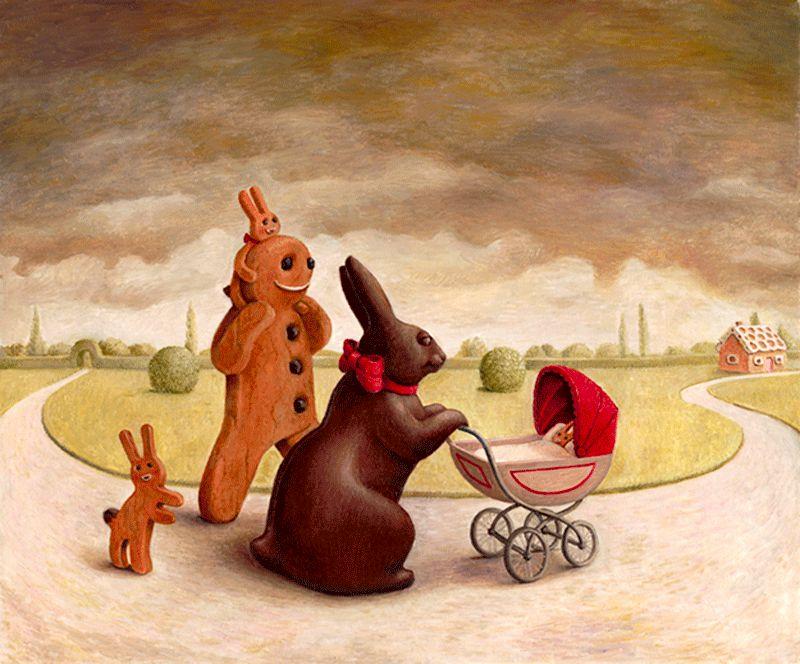 Home Sweet Home - Canvas by Sarah Jane Szikora