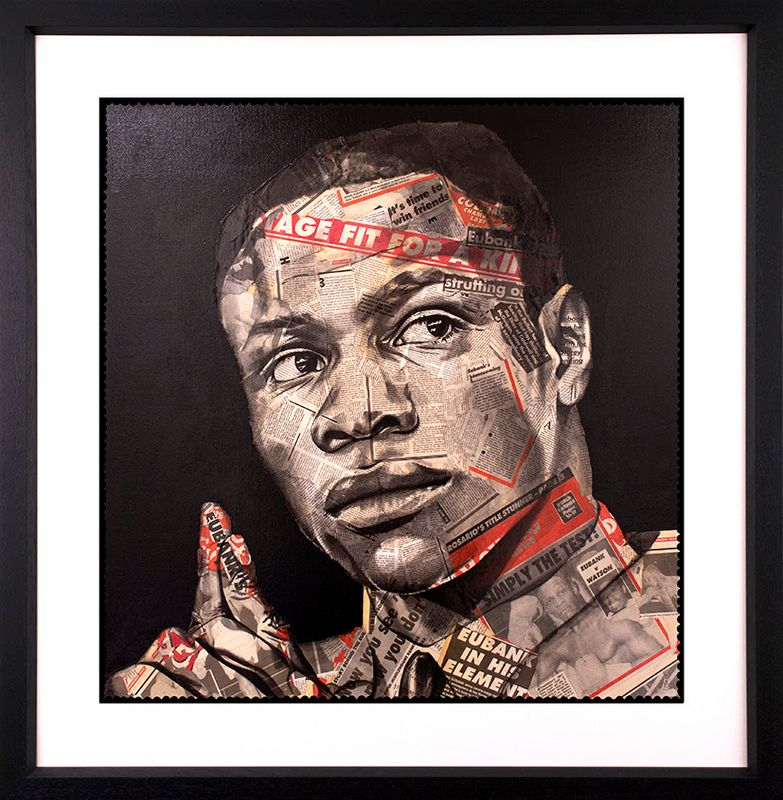 Homecoming - Artist Proof Black - Framed by Chess