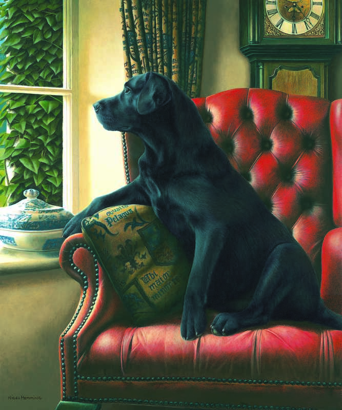Homeward Bound & Remarque Of Your Dog - Mounted by Nigel Hemming