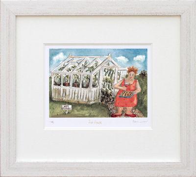 Hot House - Framed by Rebecca Lardner