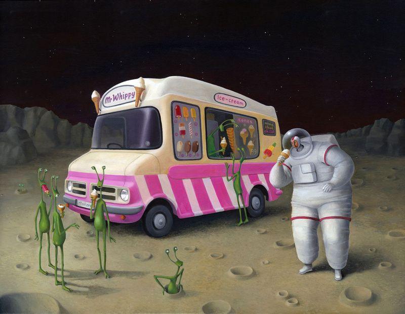 Houston We Have A Problem by Sarah Jane Szikora