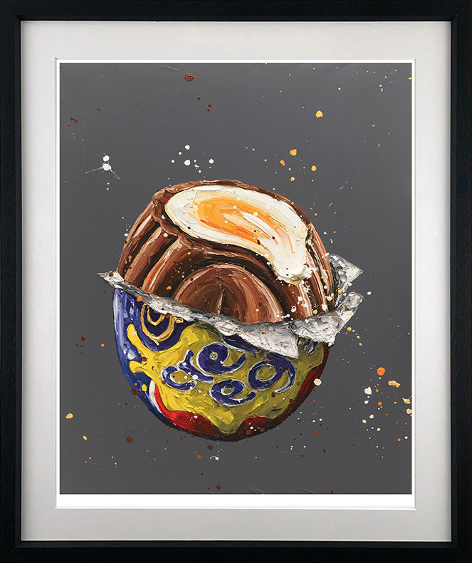 How Do You Eat Yours ? - Black - Framed by Paul Oz
