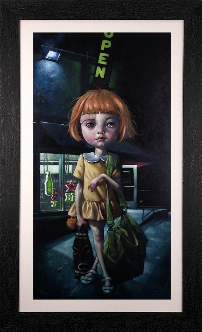 How Far Can Too Far Go? - Canvas - Framed by Craig Davison