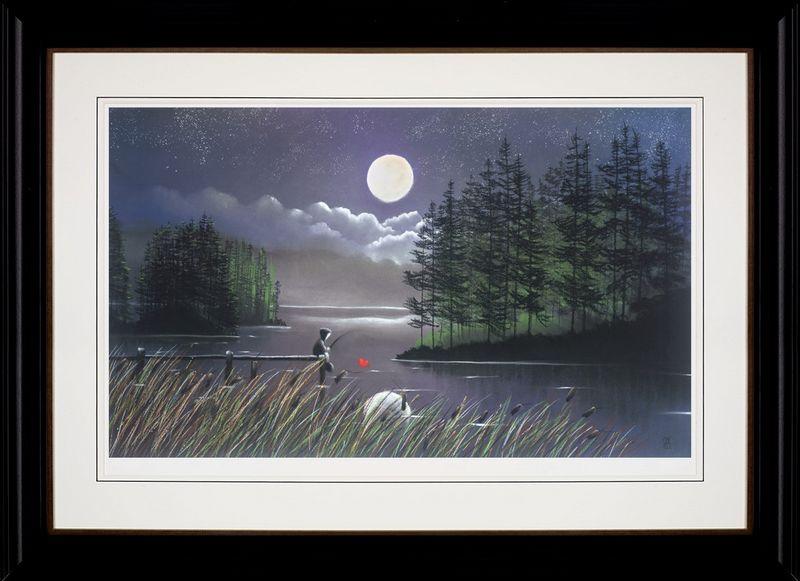 I'll Catch You the Moon - Framed by Mackenzie Thorpe