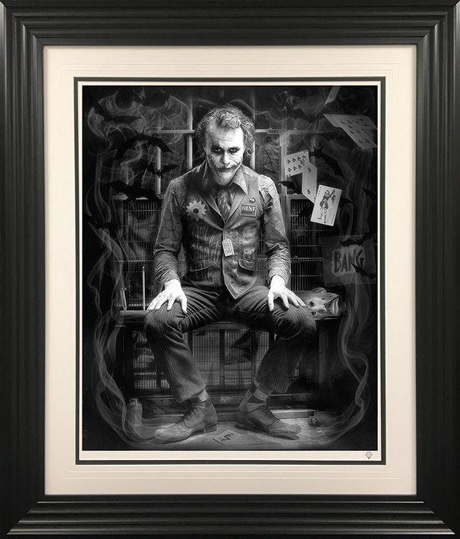 I'm Not A Monster - Black And White - Black - Framed by JJ Adams