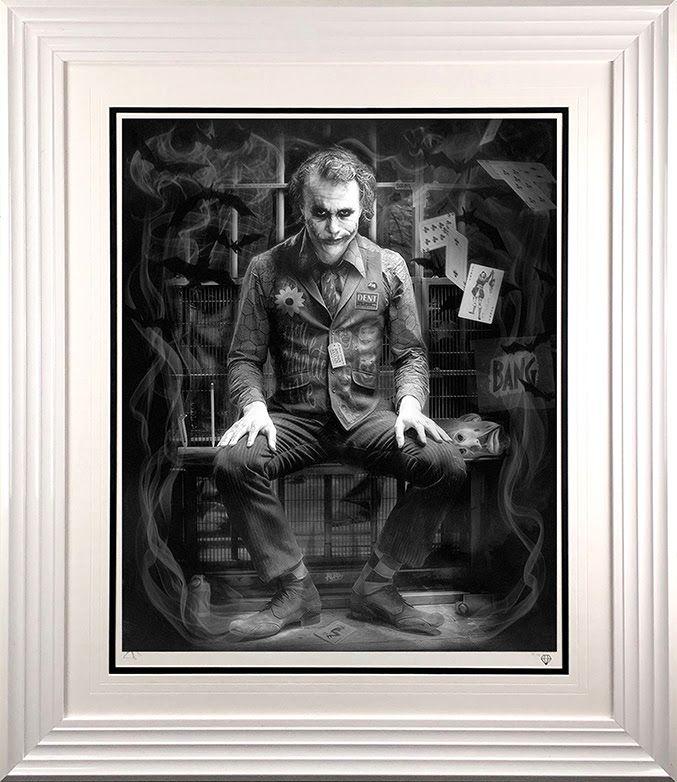 I'm Not A Monster - Black And White - White - Framed by JJ Adams
