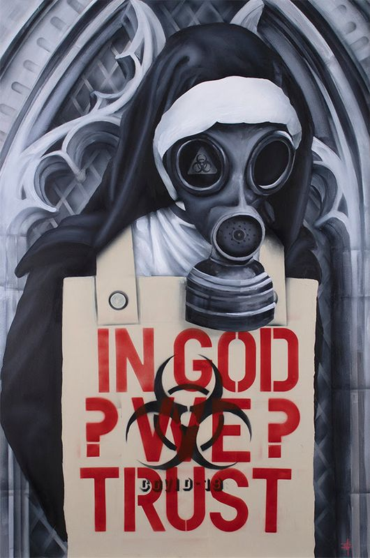 In God We Trust by Dean Martin *Mad Artist
