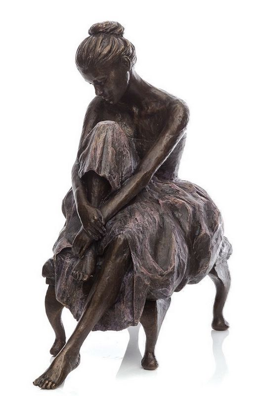 In Repose  - Bronze by Sherree Valentine Daines