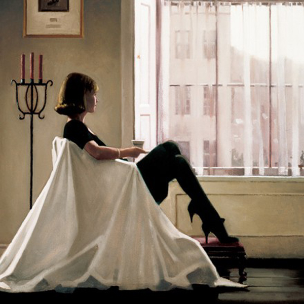 In Thoughts of You (Small)  by Jack Vettriano
