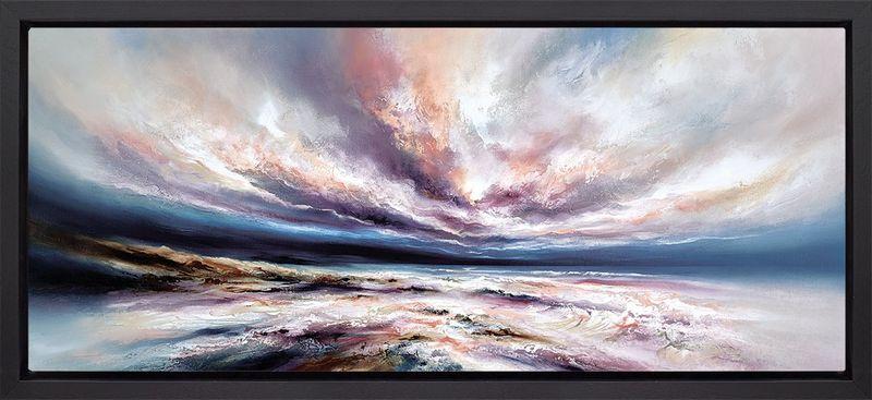 Infinite Seas - Framed Box Canvas by Chris & Steve Rocks