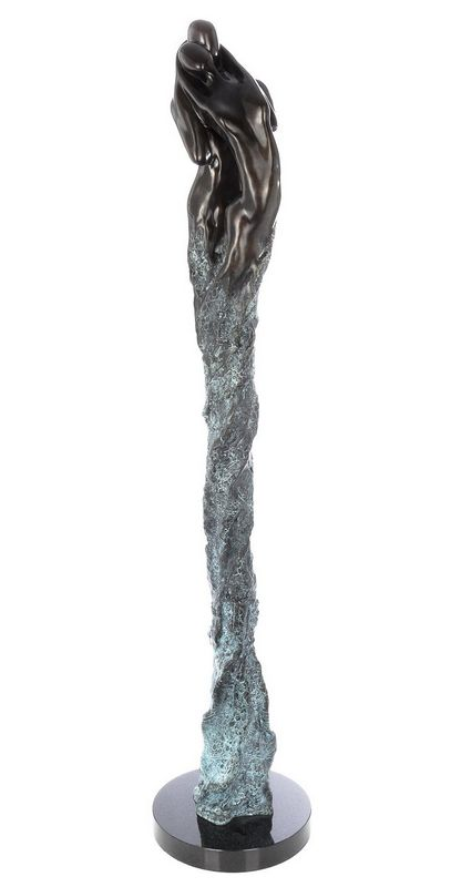 Intertwined II - Bronze by Jennine Parker
