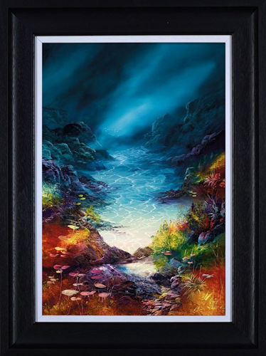 Into The Blue - Framed by Philip Gray