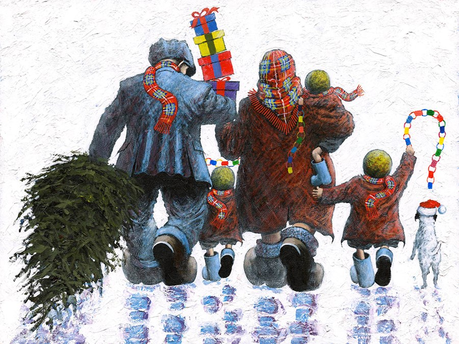 It's Christmas Time - Print Only