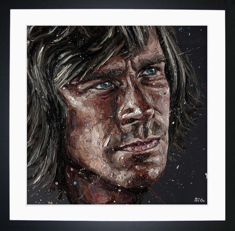 James Hunt - Framed by Paul Oz