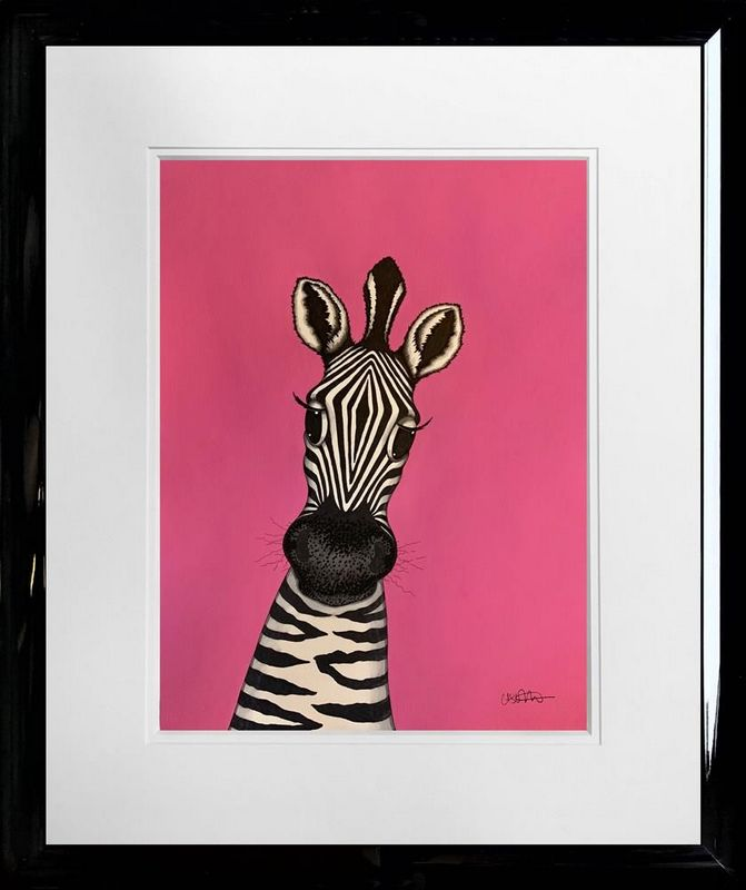 Penelope - Original - Framed by Caroline Shotton