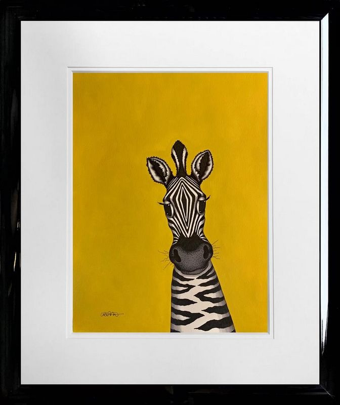 Jemima - Original - Framed by Caroline Shotton