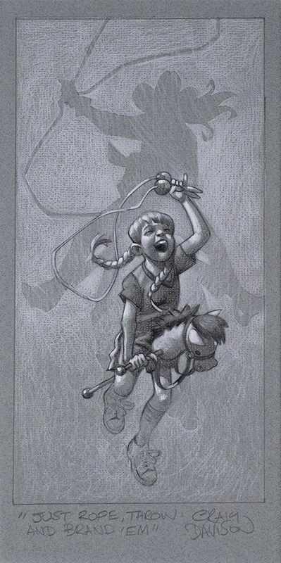 Just Rope, Throw & Brand 'Em by Craig Davison