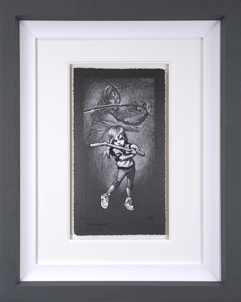 Kidding Around - Sketch - Artist Proof - Framed by Craig Davison