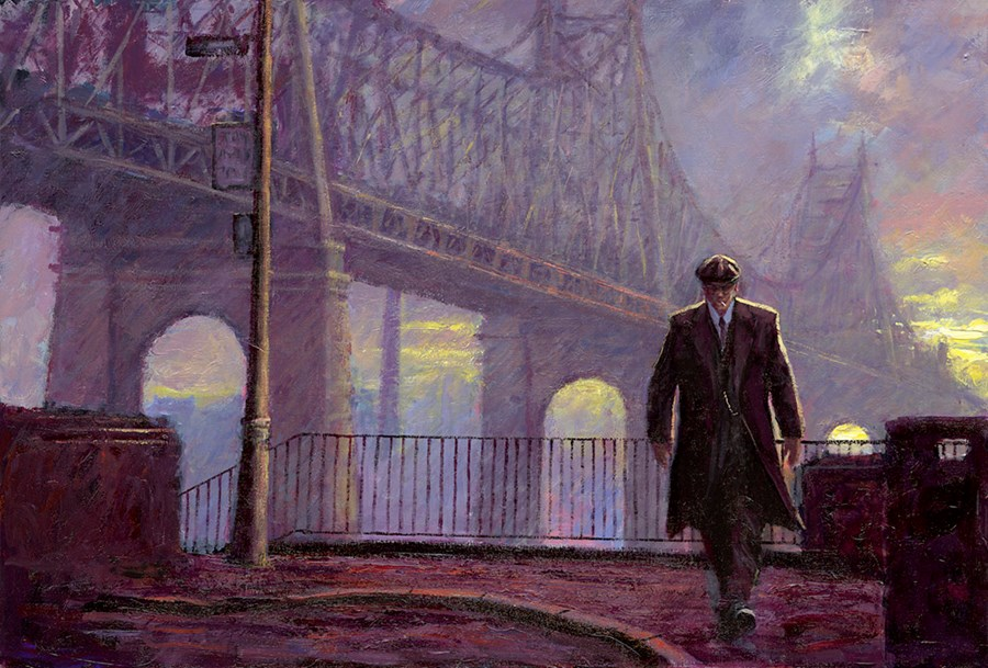 King of Queens - Print Only by Alexander Millar