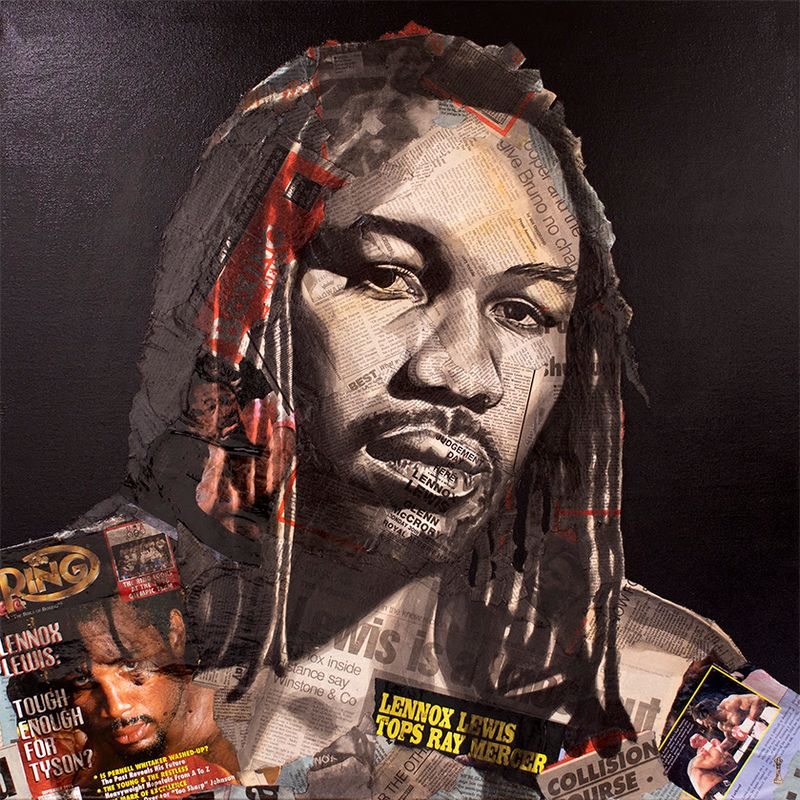 Knockout - Lennox Lewis by Chess